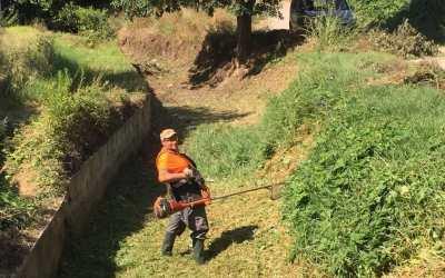 L'Ajuntament de Canals inicia els treballs de neteja i adequació del riu Sants