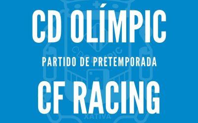 El CD Olímpic troba substitut per al seu primer amistós de pretemporada