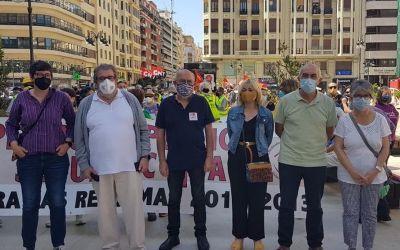 Compromís i Unides Podem presenten una PNL en les Corts per recolzar la campanya per una Auditoria de la Seguretat Social de COESPE