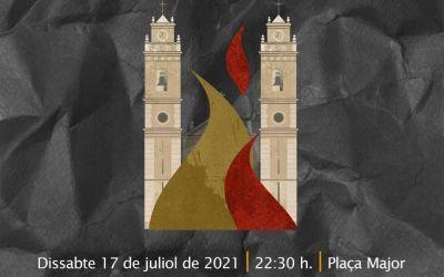 """Canals commemora el mig any fester amb l'espectacle audiovisual """"El Foc Robat"""""""
