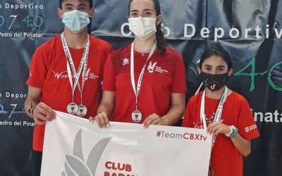 El CB Xàtiva aconsegueix 7 medalles en els TTR disputats el darrer cap de setmana