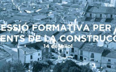 El Pla Xàtiva realitza hui la sessió formativa destinada a agents de la construcció i la rehabilitació