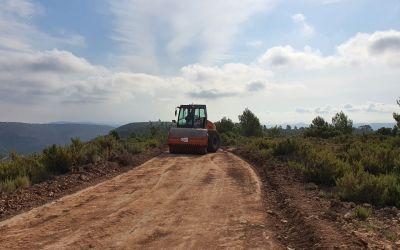 Moixent comença les obres de millora al camí de la Costa Garraiet