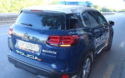 La Policia Nacional de Xàtiva deté un home per realitzar-li tocaments a dues dones