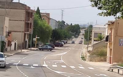La campanya de control de velocitat corrobora les queixes veïnals a l'Alcúdia de Crespins