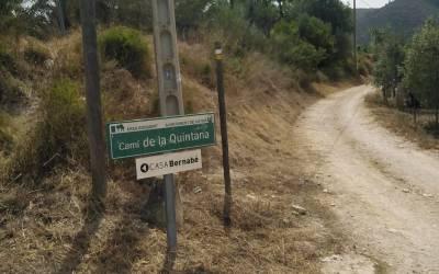 Xàtiva avança en l'execució el Pla de neteja i desbrossament dels camins i accessos del terme municipal
