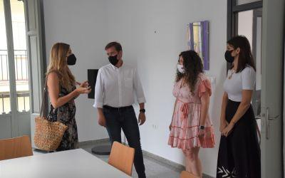 Maria Such visita les instal·lacions del futur Centre de Dona Rural que s'ubicarà a Xàtiva