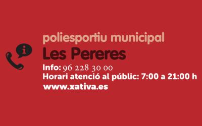 L'Ajuntament de Xàtiva inicia una nova temporada d'activitats esportives