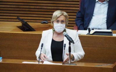 Ana Barceló anuncia l'nici de la vacunació massiva sense cita prèvia