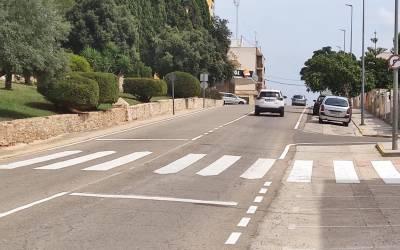 L'Alcúdia de Crespins millora els passos de vianants de diferents carrers