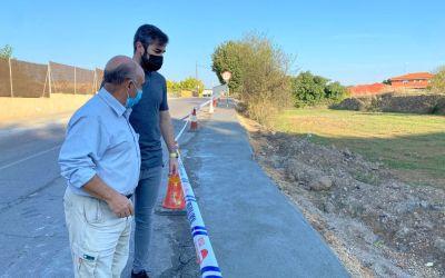 S'inicien les tasques de millora en l'accés i pas entre Canals, la Serratella i l'Alcúdia de Crespins
