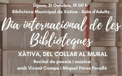 Xàtiva celebra el Dia Internacional de les Biblioteques