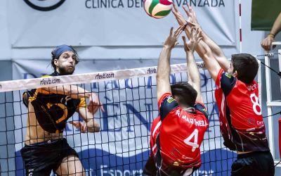 Els equips de SuperLliga2 del CV Xàtiva comencen la lliga amb derrota