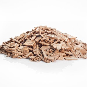 Winemaking light French oak chips