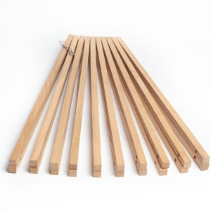 Winemaking light French oak sticks