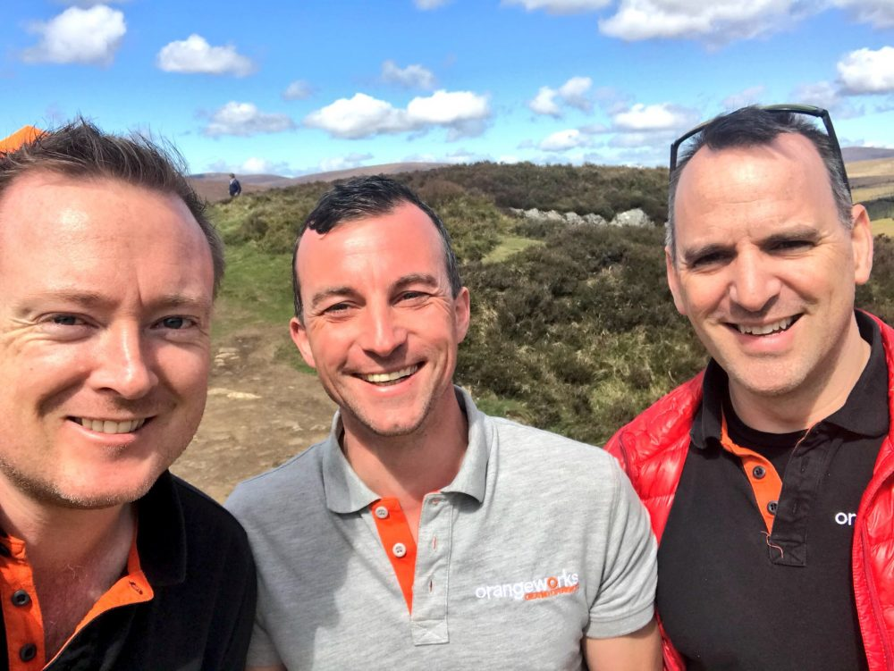 Orangeworks directors - Oran, Will and Dave.