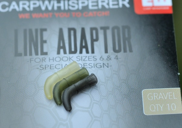line adaptor medium, line aligner, carp whisperer, karpervissen, inhaking, longshank, bow, karperhaken