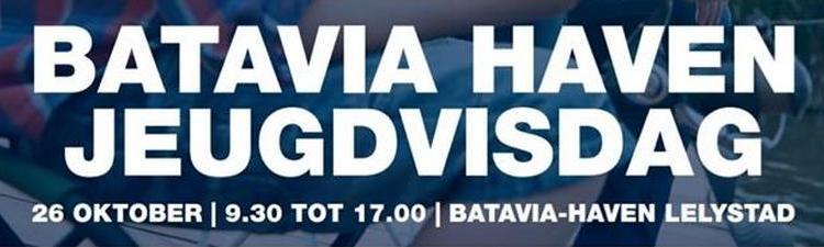 Grote jeugdvisdag in Batavia Haven (Lelystad)