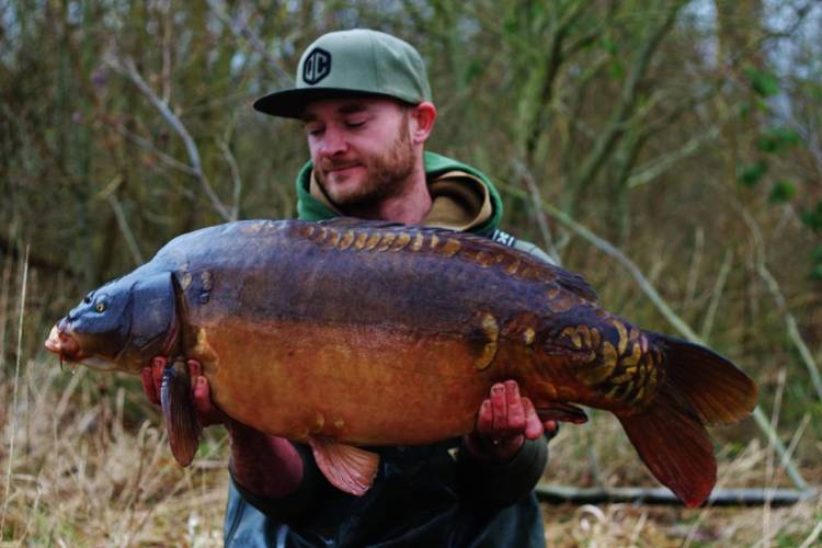 monster tiger nut wafter caught carp craig waddington