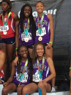17-18 Young Women 4x1 6th Place