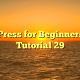 WordPress for Beginners 2015 Tutorial 29