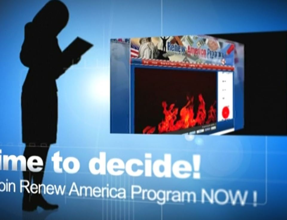 Renew America Program Video