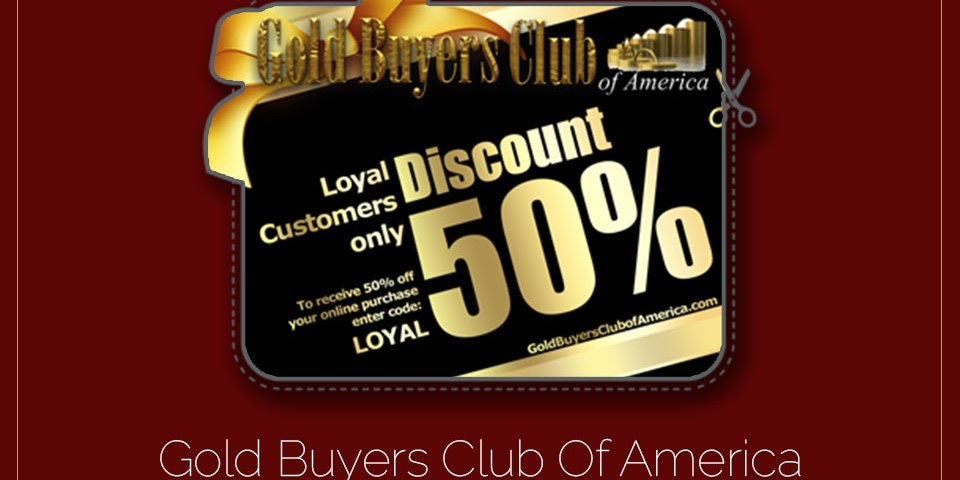 Gold Buyers Club Of America Promotionals
