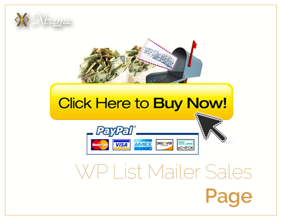 WP List Mailer Sales Page