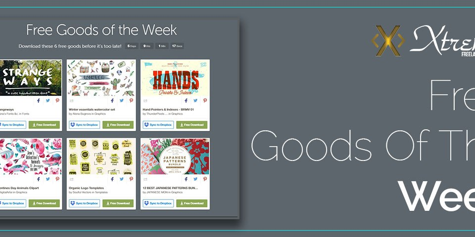 Free Goods Of The Week – Jan.23