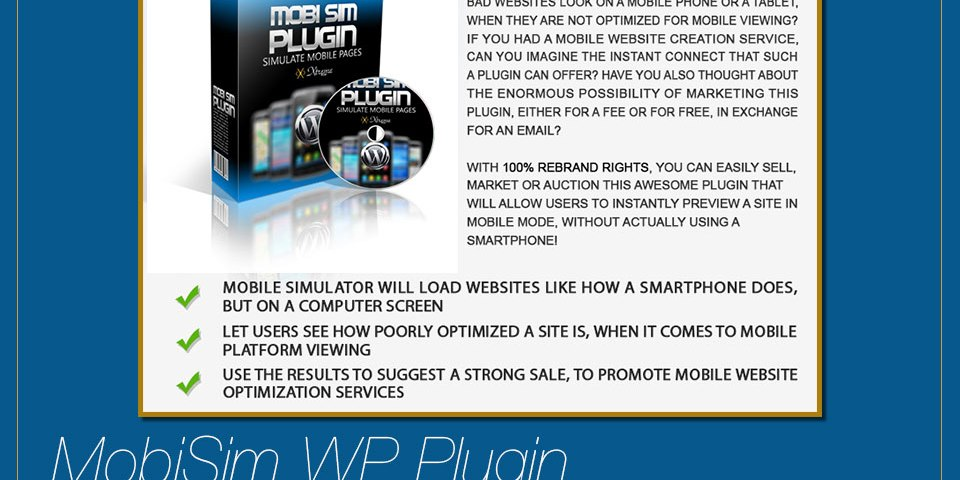 Mobile Page Simulator WP Plugin