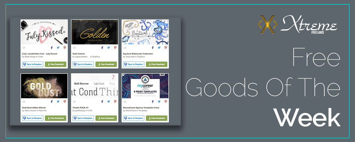 Free Goods Of The Week Creative Market21