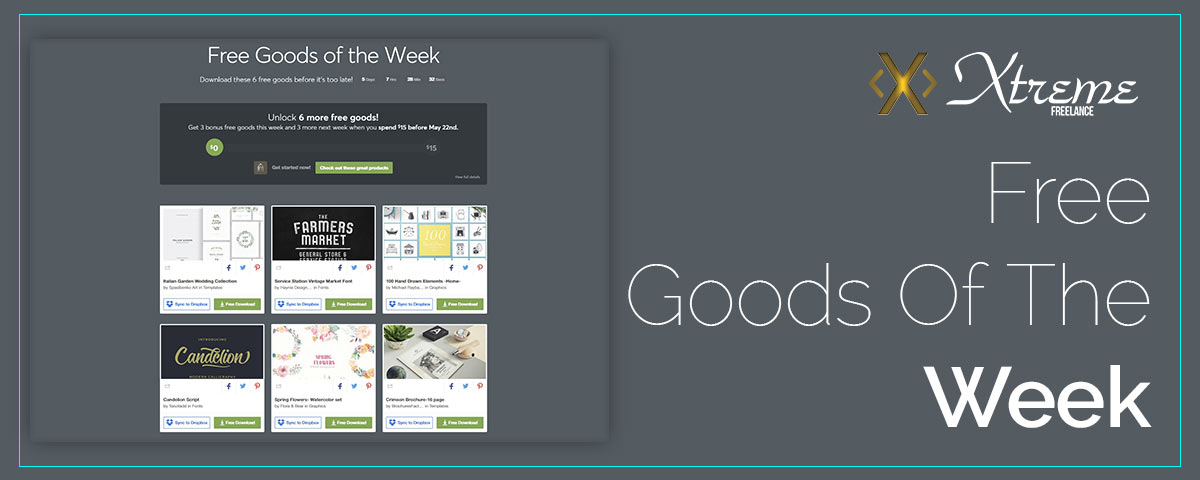 Free Goods Of The Week – May.07