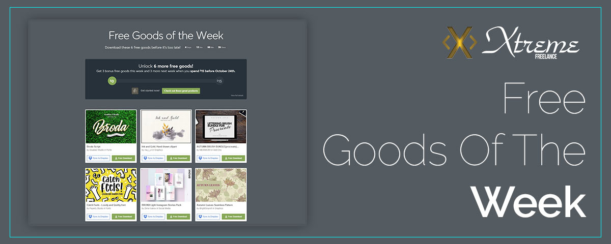 Free Goods Of The Week – Oct.08
