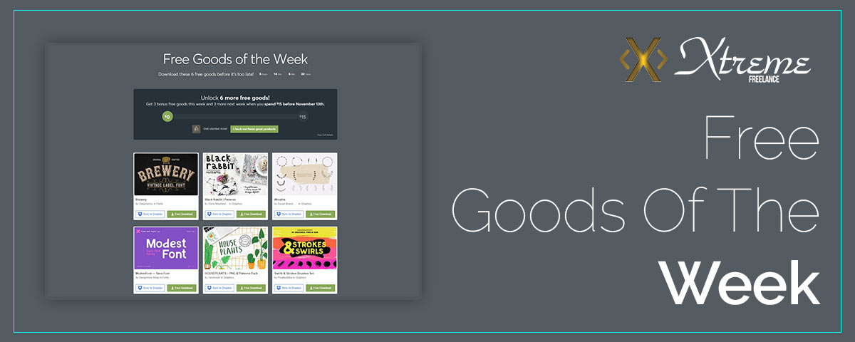 Free Goods Of The Week – Oct.29