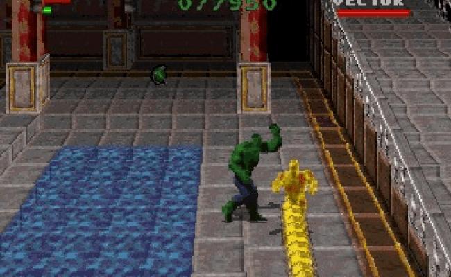 The Incredible Hulk The Pantheon Saga Eidos Interactive