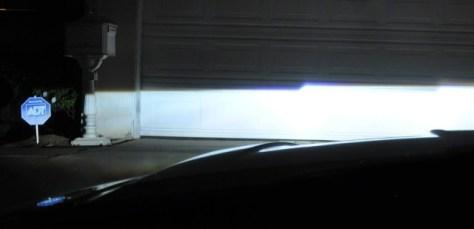 HID Projector Beam Cutoff