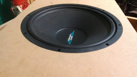 Custom Subwoofer Box Baffle Flush Mount