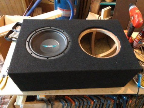 Image Dynamics IDQ10 Custom Subwoofer Box