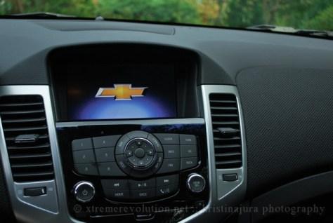 Chevy Cruze LTZ Interior