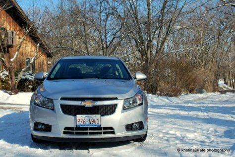 Chevy Cruze Front View
