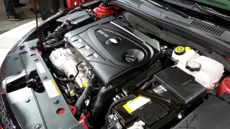 2014 Chevrolet Cruze Diesel Engine Bay