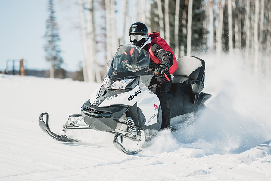 snowmobiling extreme sport