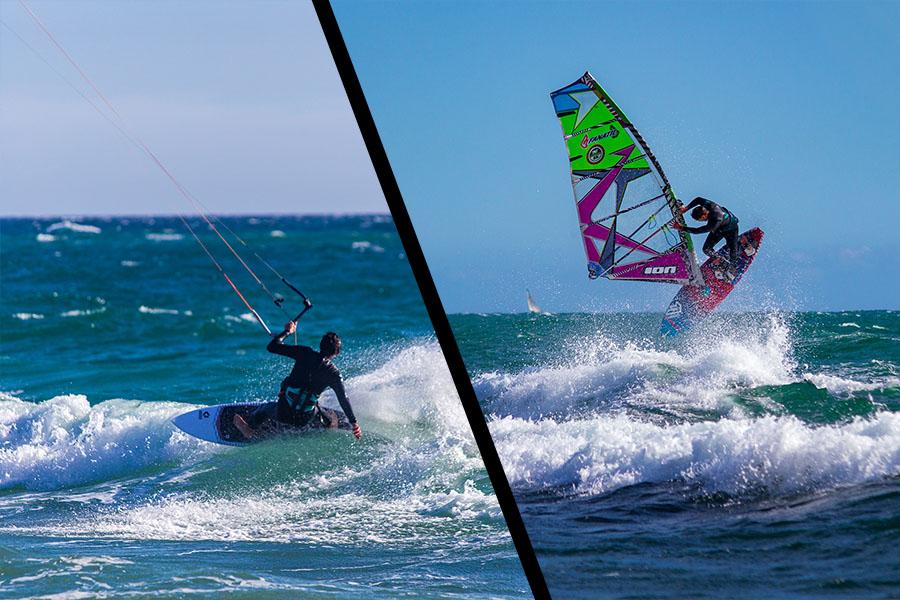 kitesurf vs windsurf - thumb