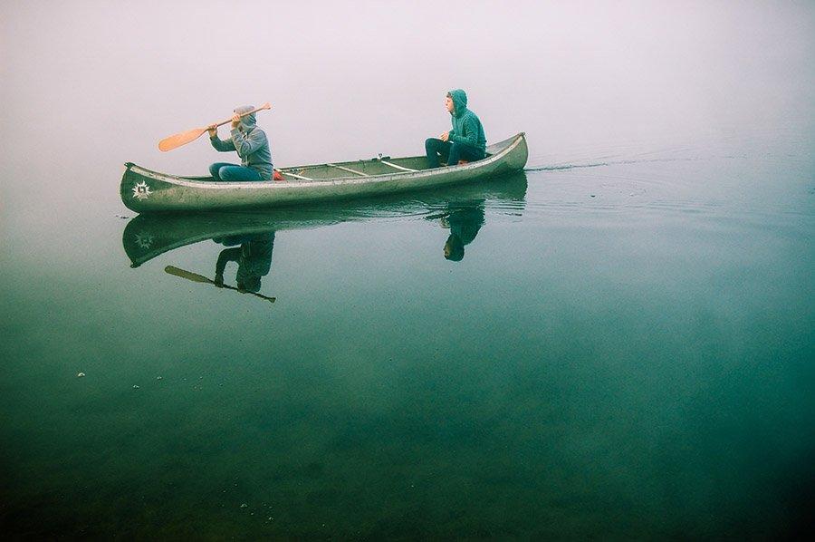 canoe vs kayak - canoe 2