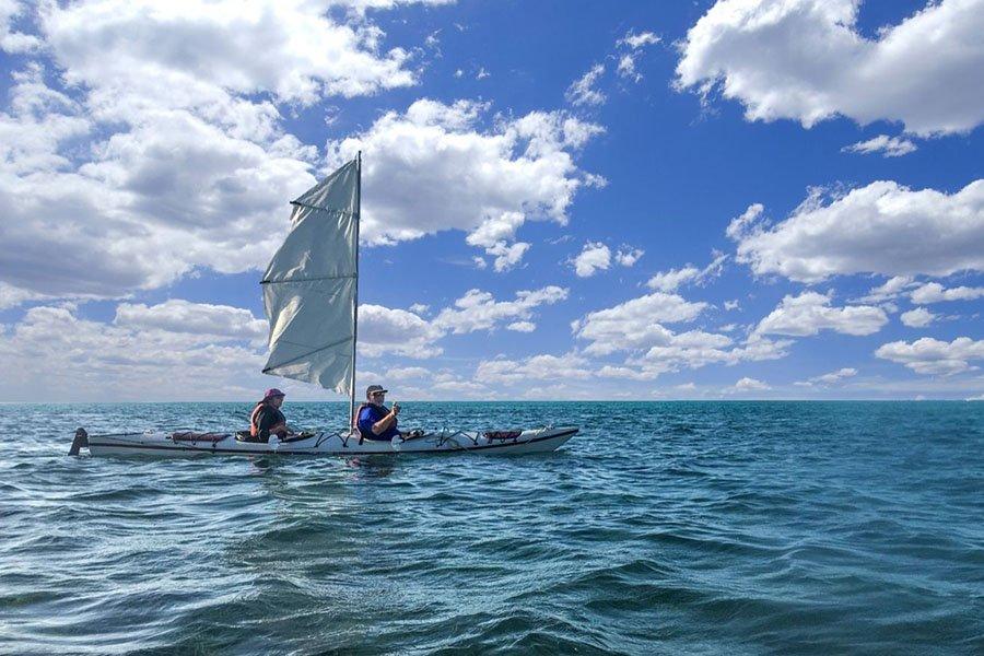 Kayak sails - thumb