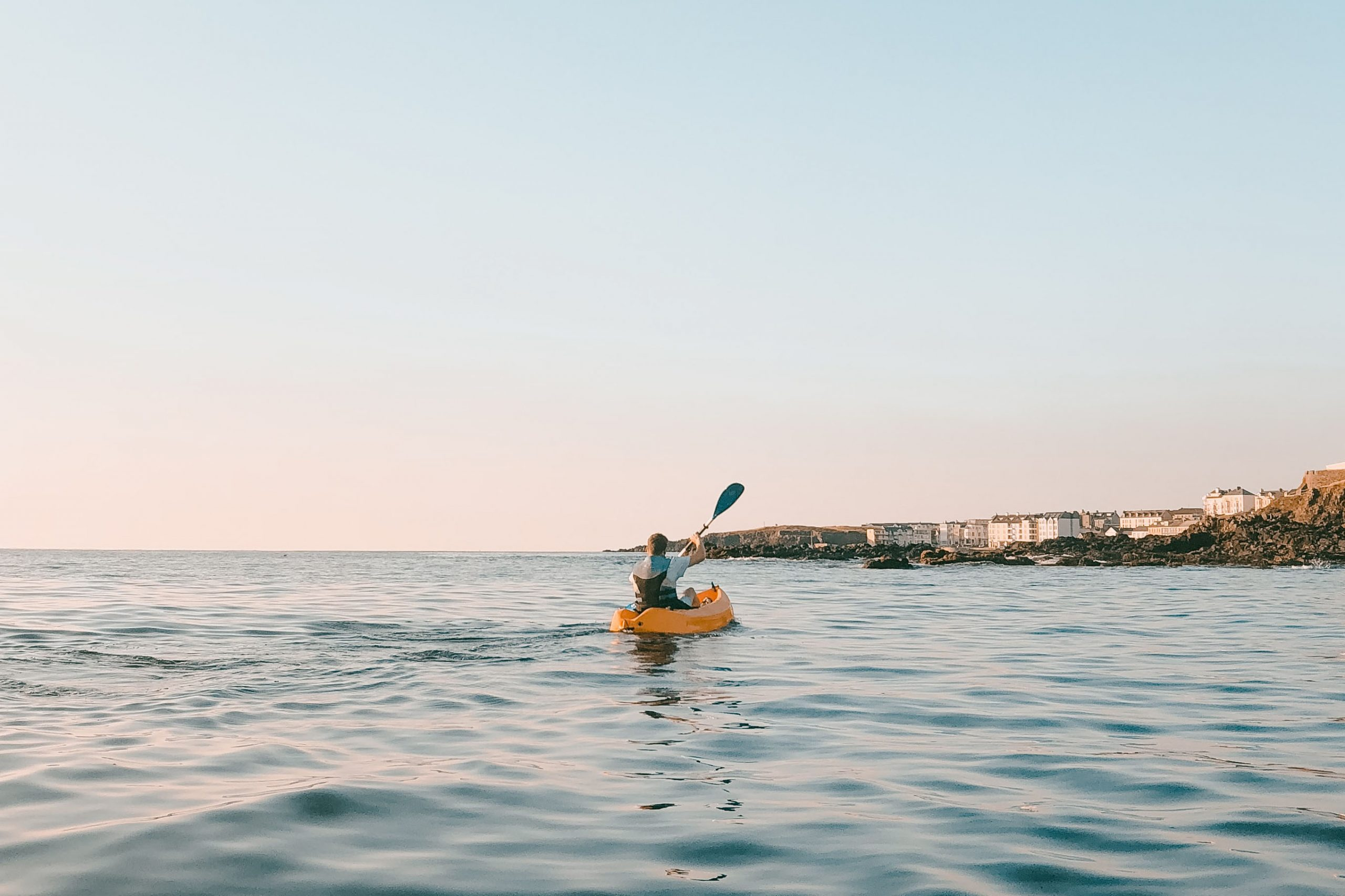 How long does it take to kayak a mile - 3