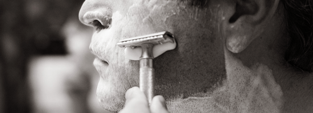 Shaving With The Grain : Mapping The Facial Hair Growth