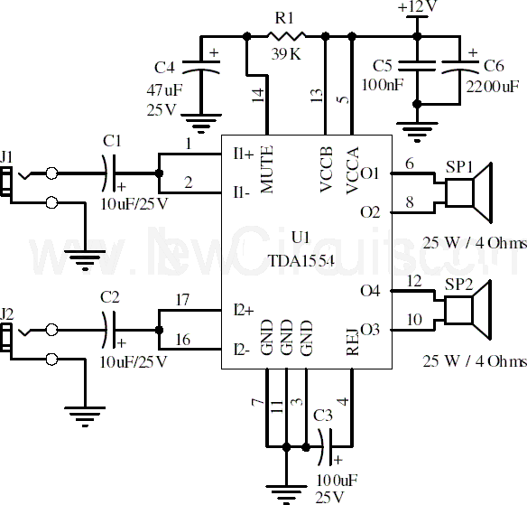 22W_Stereo_Amplifier_Circuit_Diagram Here is the 22 watt