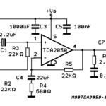 amplifier-TDA2050-Single Circuit 32w hi-fi audio power