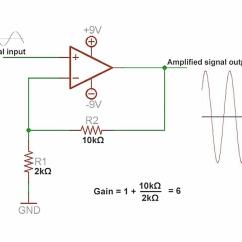Automotive Wiring Diagram Tutorial Power Sentry Ps1400 Operational Amplifier Lm324 And Super Microphone Circuit - Xtronic